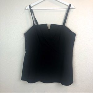 Torrid Top Size 1. Black. Adjustable Straps